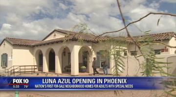 Luna Azul on Fox 10 News
